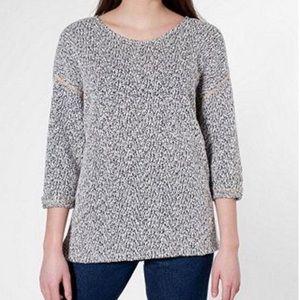 American Apparel Reversible Easy Sweater